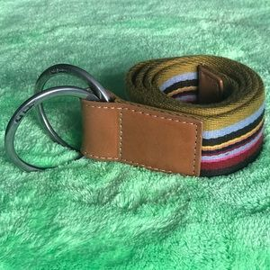Paul Smith double buckle belt